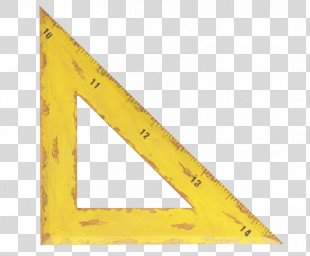 Triangle Set Square Ruler - Triangle Ruler PNG