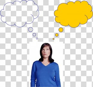 Thought Person Speech Balloon Clip Art - Thinking Man PNG