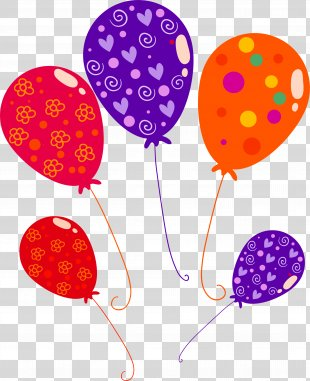 Happy Birthday To You Quotation Greeting Card Anniversary - Cartoon Balloon Decoration Pattern PNG