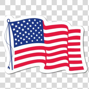 Flag Of The United States 2018 MINI Cooper Decal Sticker - Us Flag PNG
