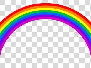 Pot Of Gold Rainbow Color Clip Art - Rainbow PNG