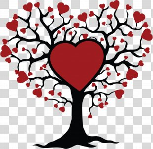 Clip Art Tree Of Life Sticker Design - Tree Of Life Drawing Kiss PNG
