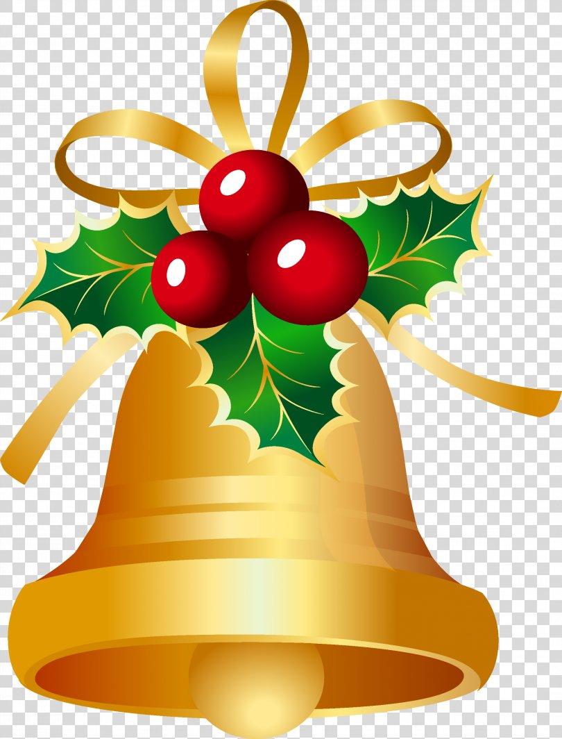 Christmas Card Jingle Bell Clip Art, Christmas Bell PNG