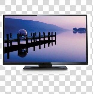 LED-backlit LCD Television Set High-definition Television Smart TV - Tv PNG