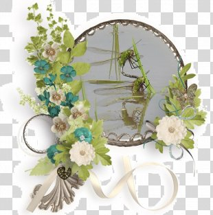 Floral Design Cut Flowers Artificial Flower Picture Frames - Rice Paddy PNG