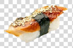 Sushi Pizza Makizushi Unagi - Sushi PNG