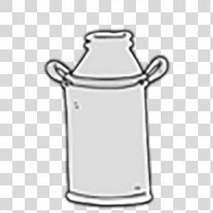 Milk Bottle Barrel Drawing - Milk PNG