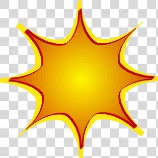 Starburst Orange Clip Art - Fire Hydrant PNG