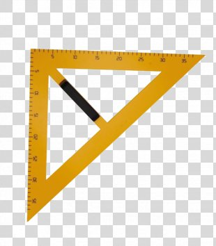 Ruler Compass Set Square Protractor Teacher - Shell PNG