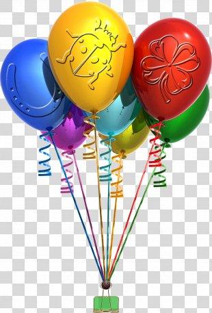 Balloon Birthday Party Clip Art - Balon PNG