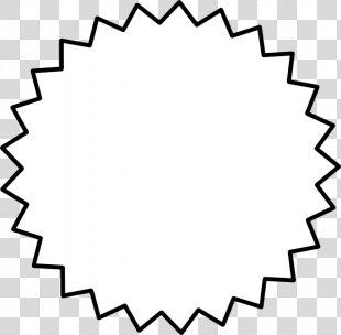 Starburst White Clip Art - Starburst Shape Cliparts PNG
