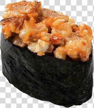 Sushi Makizushi Japanese Cuisine Unagi Pizza - Sushi PNG