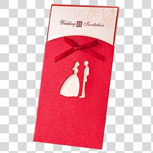 Wedding Invitation Paper Chinese Marriage - Wedding Invitations PNG