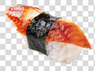 Sushi Makizushi Unagi Pizza Japanese Cuisine - Sushi PNG