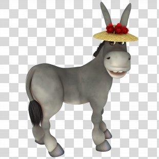 Donkey Cartoon - Donkey PNG