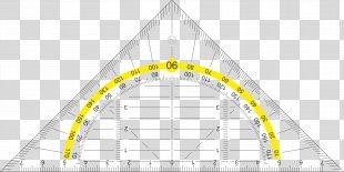 Clip Art Set Square Ruler - Protractor Frame PNG
