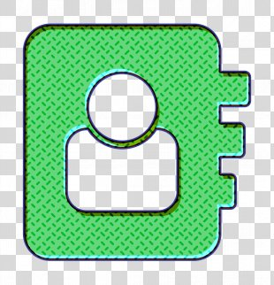 Contact Icon Directory Icon - Symbol Green PNG