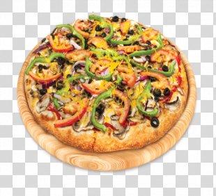 California-style Pizza Sicilian Pizza Vegetarian Cuisine Veggie Burger - Tomato Pizza PNG