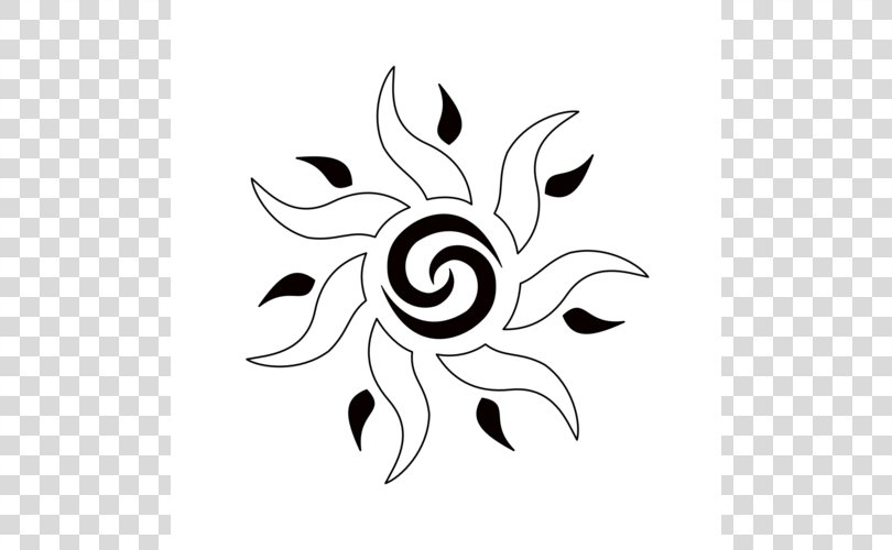 Tattoo Tribe Drawing Symbol Stencil, Heart Star Tattoo Designs PNG, Free Download