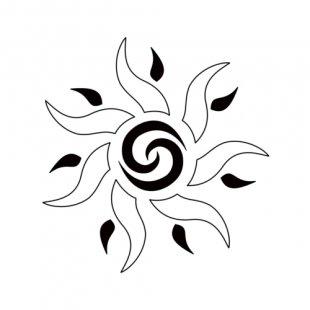 Tattoo Tribe Drawing Symbol Stencil - Heart Star Tattoo Designs PNG