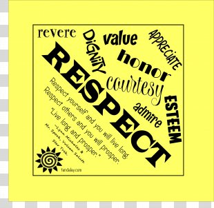 Respect Kerchief Happiness Necktie Scarf - 3 Legged Race PNG