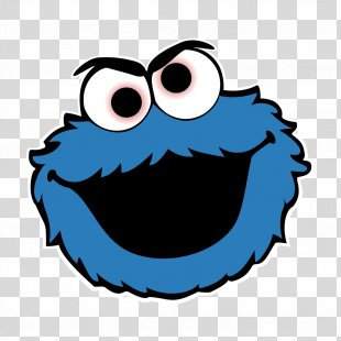 Cookie Monster Elmo Biscuits Birthday Cake Clip Art - Cookie PNG