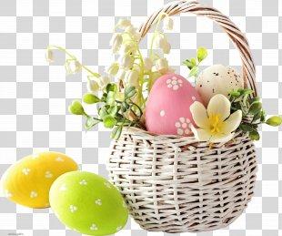 Easter Bunny Easter Egg Easter Basket Egg Hunt - Easter PNG