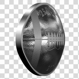 Silver Coin Silver Coin Football Dollar Coin - Silver PNG