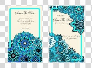 Wedding Invitation - Wedding Invitation Background Pattern PNG