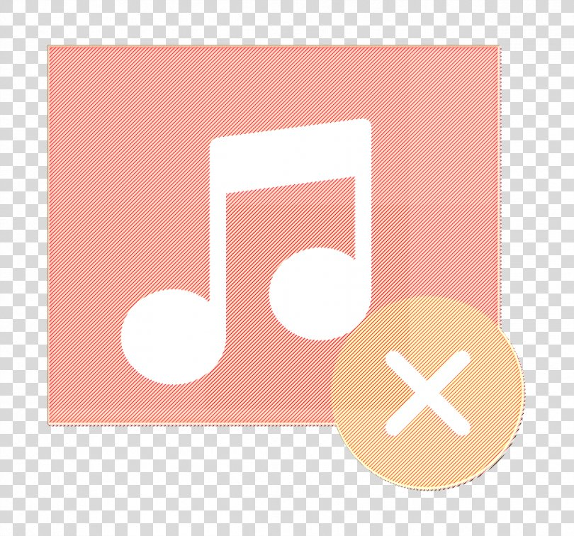 Music Player Icon Interaction Assets Icon Music Icon, Logo Peach PNG