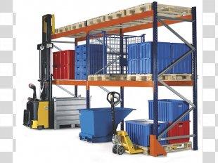 Pallet Racking Bookcase Warehouse Shelf - Warehouse PNG