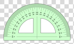 Protractor Ruler Measurement Angle Drawing - Angle PNG