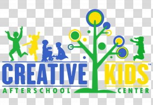 Creative Kids Logo Child Vance Design - Summer Camp Accepting Applications PNG