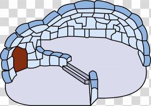 Igloo Club Penguin House Patio Clip Art - Igloo PNG