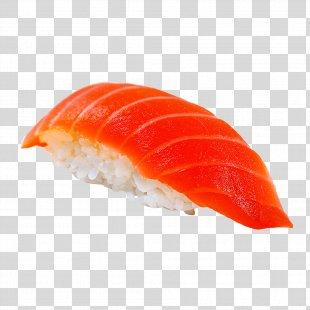 Sushi Makizushi California Roll Smoked Salmon Tempura - Sushi PNG