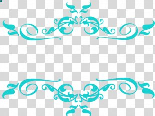 Borders Clip Art Borders And Frames Image Black And White - Swirly Tag PNG