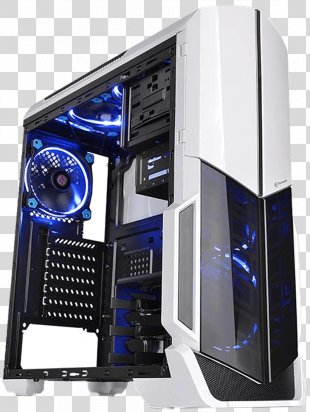 Computer Cases & Housings ATX Thermaltake Gaming Computer - Computer PNG