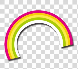 Rainbow Euclidean Vector Icon - Rainbow PNG