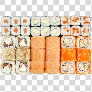 California Roll Sushi Makizushi Japanese Cuisine Pizza - Sushi PNG
