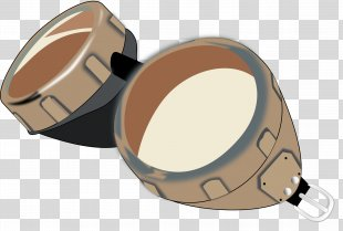 Goggles Leather Helmet Clip Art - GOGGLES PNG