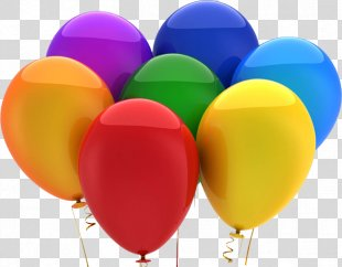 Balloon Birthday Party Gift Business - Balon PNG