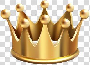 Clip Art - Gold Crown Clip Art Image PNG