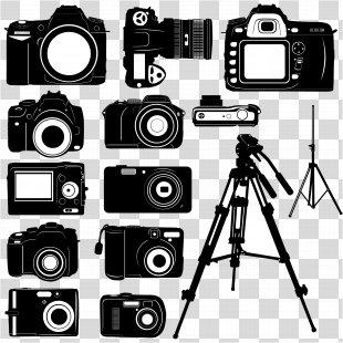 Digital Cameras Photography Clip Art - Vector Original Camera PNG
