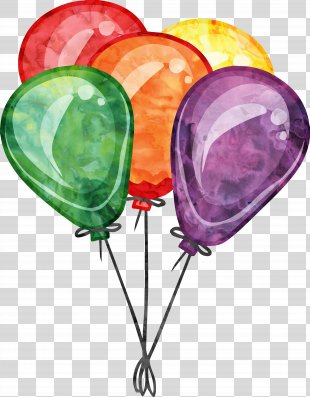 Birthday Balloon Party Clip Art - Birthday Party Balloons PNG