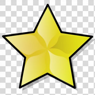 Gold Star Clip Art - Gold Stars PNG