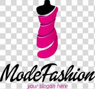 Fashion Design Logo - Exquisite Women's Fashion Logo Vector Material PNG