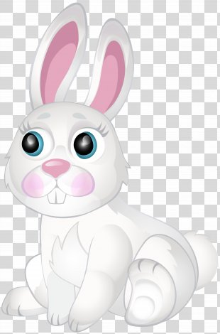 Domestic Rabbit Easter Bunny Hare Pet - Pink Bunny Ears PNG