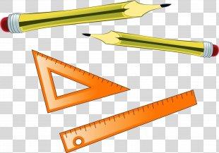 Ruler Pencil Education - Cracker PNG