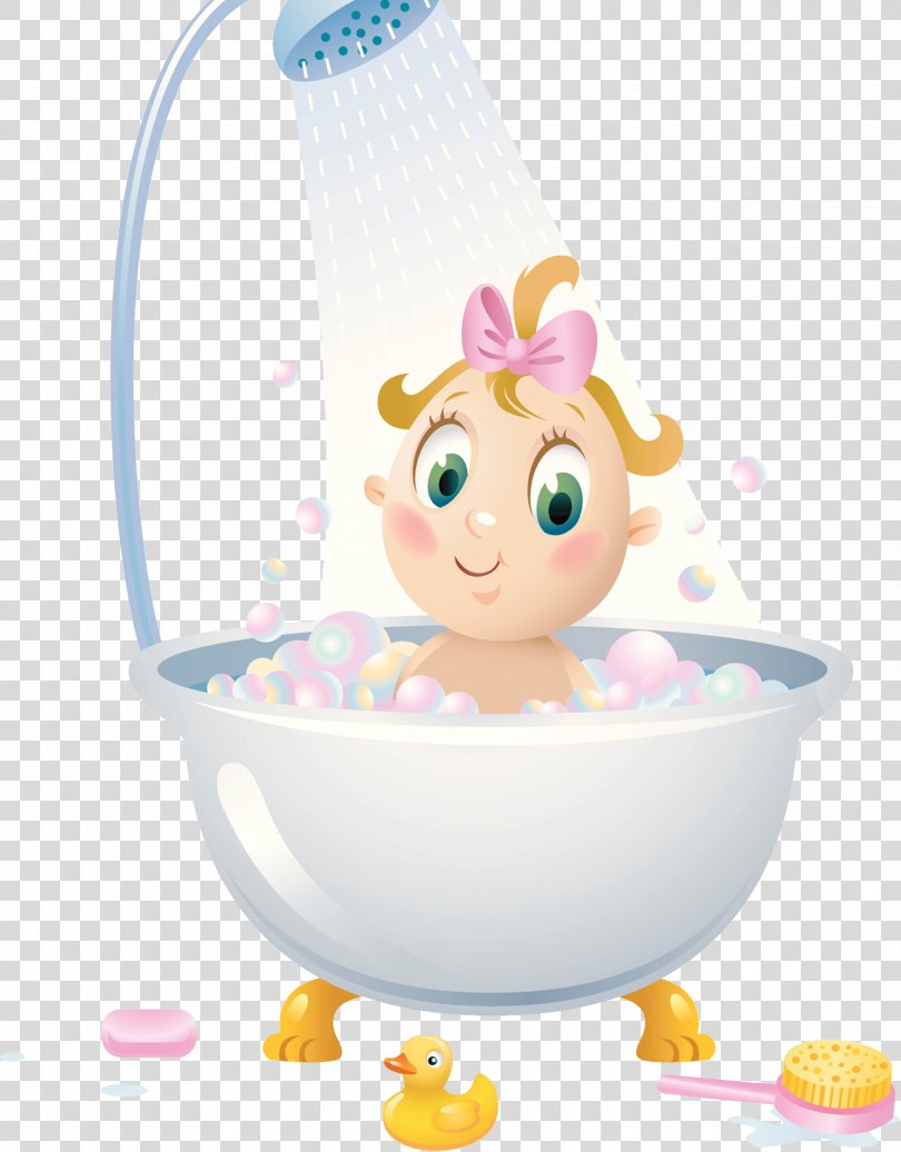 Shower Bathroom Child Bathtub Illustration, Bathroom With Shower PNG