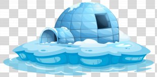 Igloo Stock Photography Clip Art - Igloo Icehouse Transparent Clip Art Image PNG